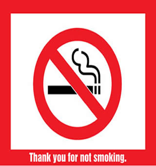 photo regarding Printable No Smoking Sign identified as ADHS - Smoke-Totally free Arizona - Household